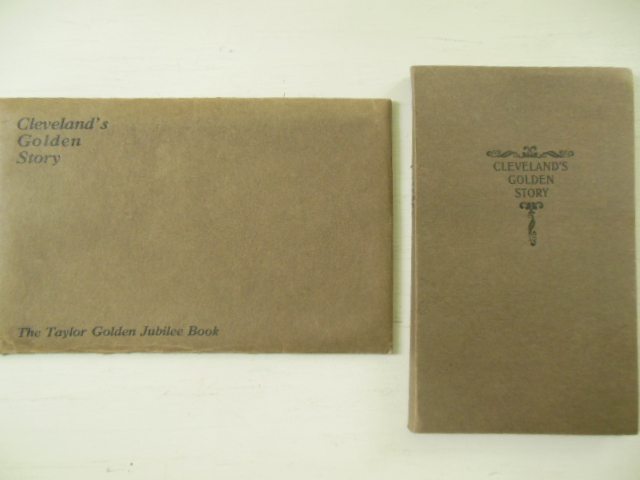 Cleveland's Golden Story (Golden Jubilee Commemoration in Original Envelope 1920)
