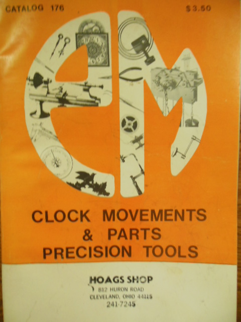 PM Clock Movements Parts & Precision Tools Catalog 176