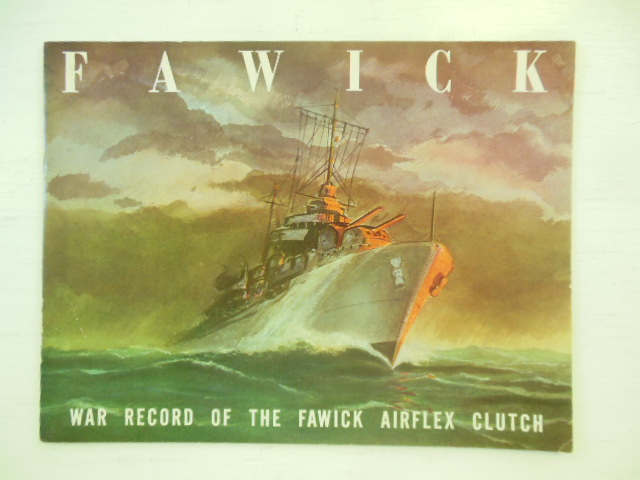 Image for Fawick; War Record of the Fawick Airflex Clutch