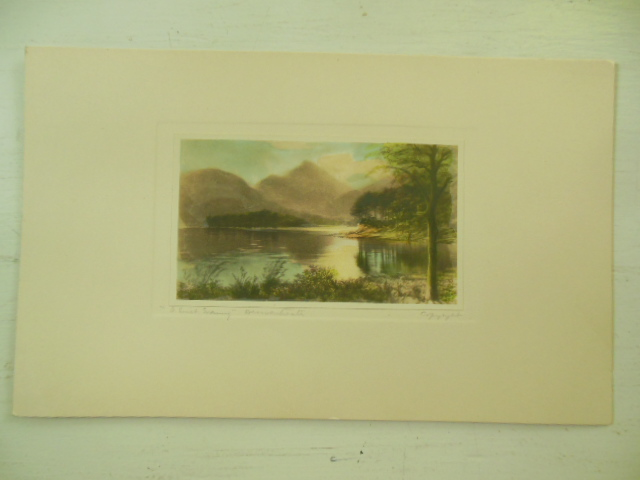 "Image for ""A Scottish Evening"" Derwentwater Print"