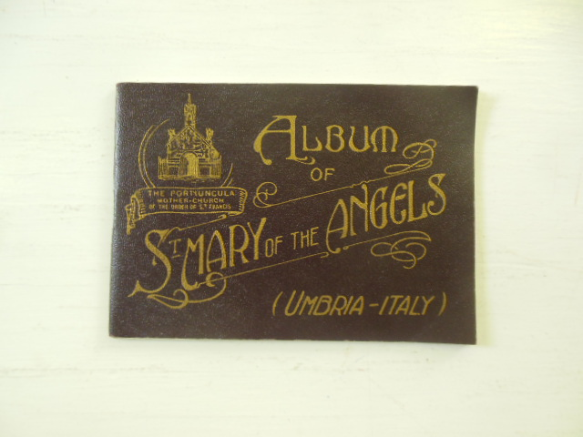 Image for Album of St. Mary of the Angels Umbria-Italy 1913