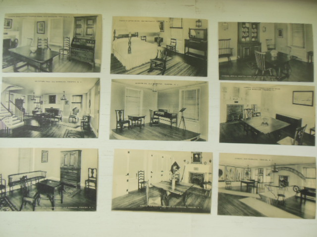 Image for Old Barracks Museum Trenton, New Jersey Nine Postcards 1940's