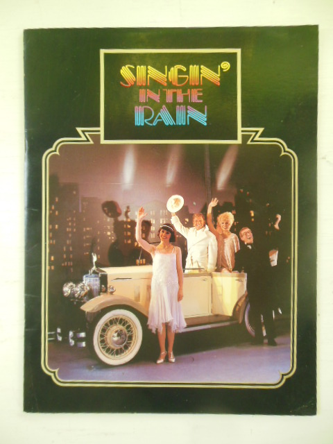 Image for Singin' in the Rain Souvenir Book London Palladium 1983 Starring Tommy Steele