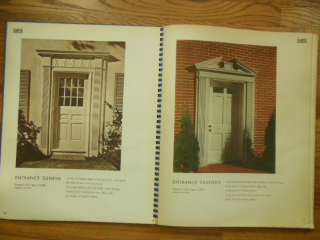 Image for Woodwork by Curtis 1946 Retail Sample Book Architectural Detail