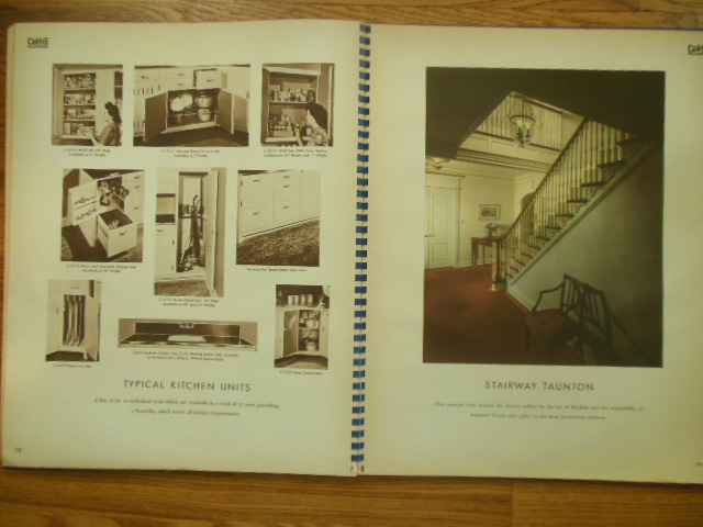 Woodwork by Curtis 1946 Retail Sample Book Architectural Detail
