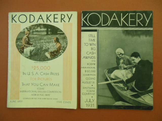 Image for Kodakery Magazines June, July 1931