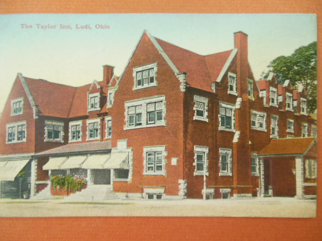 Image for Taylor Inn, Lodi, Ohio Postcard