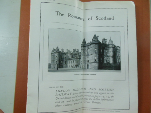 Image for The Romance of Scotland 1932 Travel Brochure