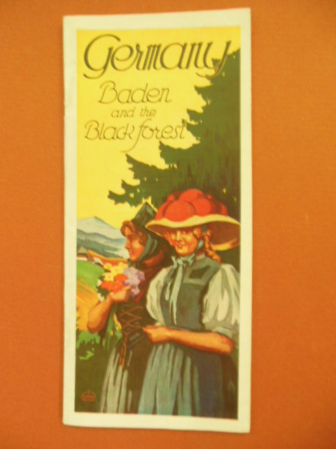 Image for Germany Baden and the Black Forest Vintage Travel Brochure