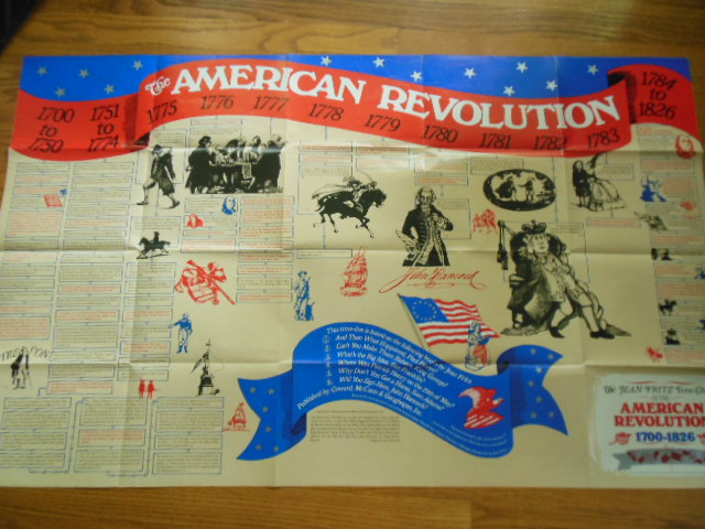 Image for The Jean Fritz Time-Chart of the American Revolution