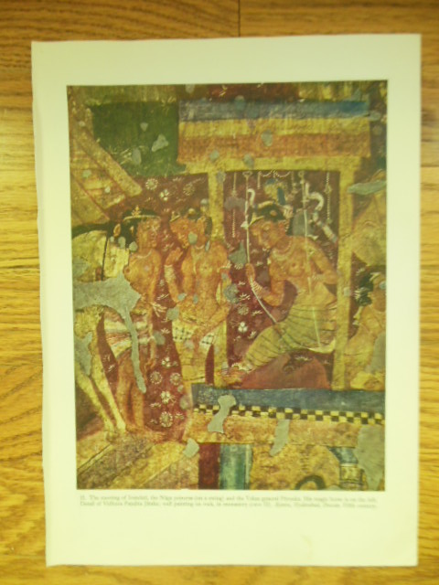 Image for Indian Print The Meeting of Irandati and the Yaksa General Purnaka 1955