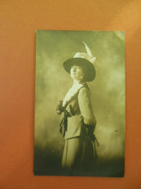 Image for Real Photo Postcard Stylish Edwardian Woman