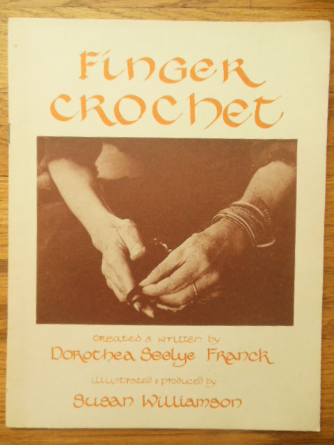 Image for Finger Crochet SIGNED Beirut, Lebanon 1984