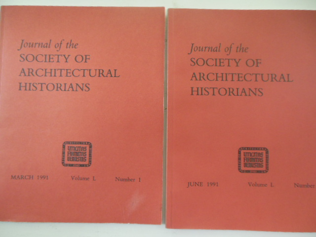 Image for Journal of the Society of Architectural Historians 1991 Vol.L, Nos. 1 and 2