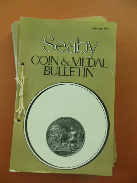 Image for Seaby Coin & Medal Bulletin 1977 (Full Run -- 12 Issues)