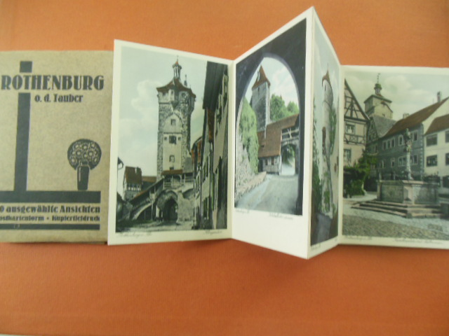Image for Rothenburg ob der Tauber 20 Selected Postcards in Original Box