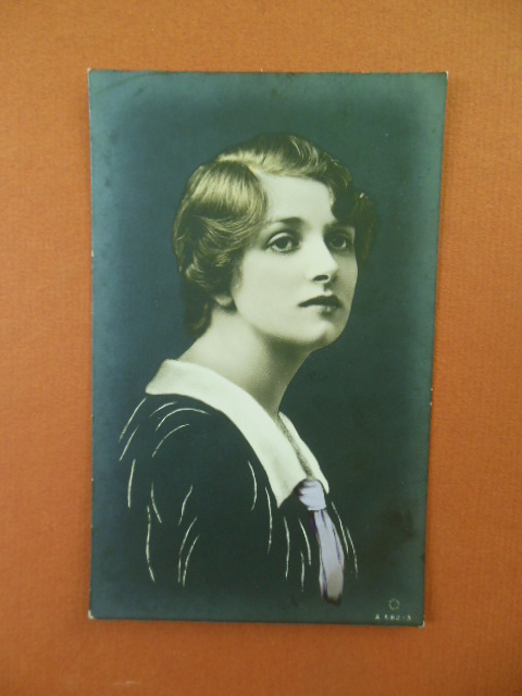 Image for Hand-Tinted Real Photo Actress Gladys Cooper
