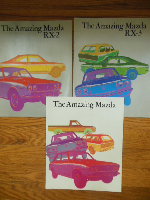 Image for The Amazing Mazda; The Amazing Mazda RX-2 The Amazing Mazda RX-3