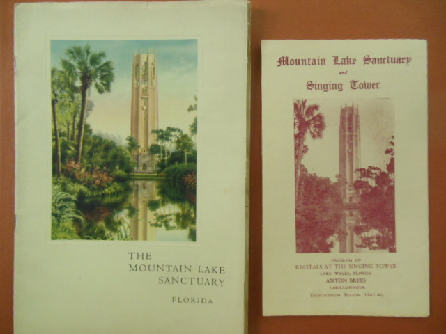 Image for The Mountain Lake Sanctuary Florida with Recital Program at the Singing Tower for Christmas 1945