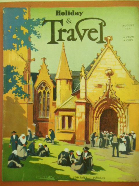 Image for Holiday & Travel Magazine August 1931 Volume XVII no. 4