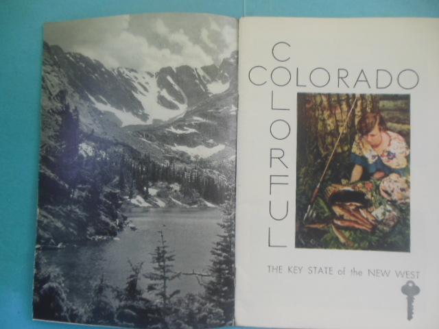 Image for Colorful Colorado; The Key State of the New West 1931