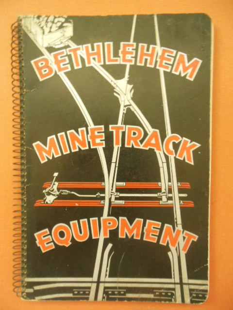 Image for Bethlehem Mine Track Equipment 1935 (Booklet 71)