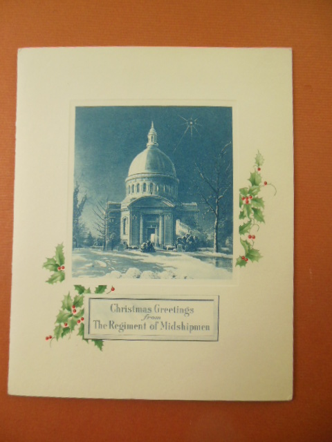 Image for Christmas Greetings From the Regiment of Midshipmen (circa 1960's)