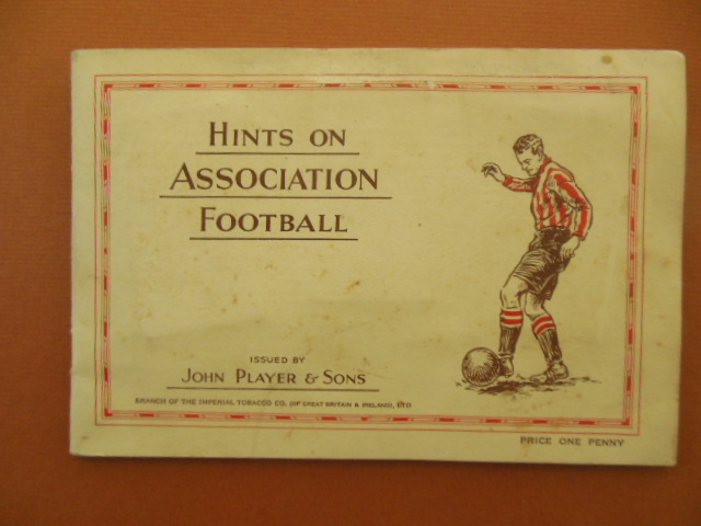 Image for Hints on Association Football John Player & Sons Cigarette Card Album (complete)1934