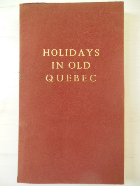 Image for Holidays In Old Quebec (1966)