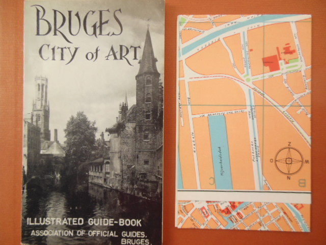 Image for Bruges City of Art Illustrated Guide With Large Map 1961