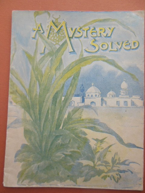 Image for A Mystery Solved (Advertising booklet for Wills' English Pills) 1897 India