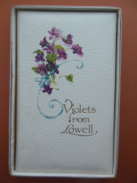Image for Violets From Lowell (Gift Book in Original Box 1912)