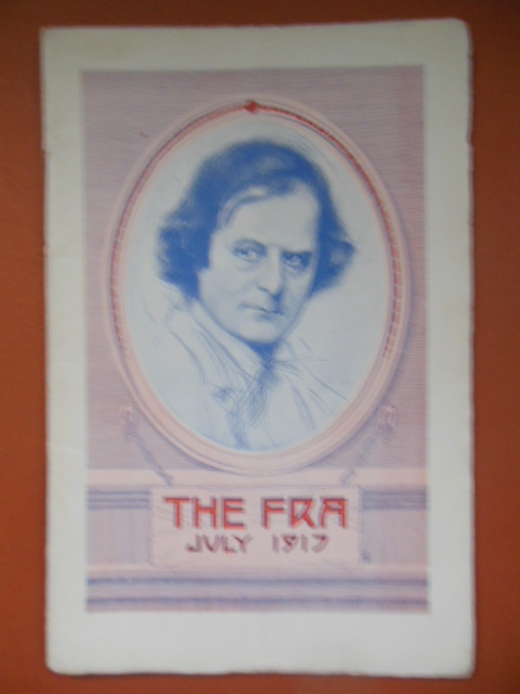 Image for The Fra Magazine Elbert Hubbard July 1917