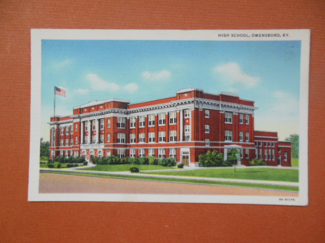 Image for Postcard High School Owensboro, KY (A4-H1176)