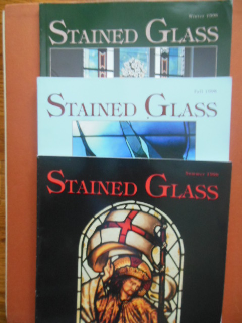 Image for Stained Glass Magazine (Three of four Issues 1998)