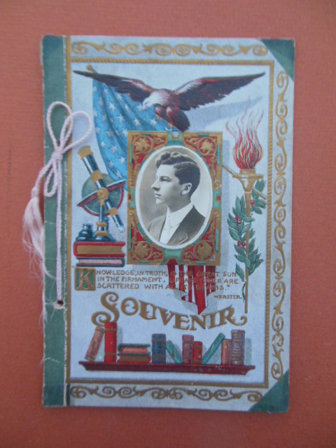 Image for Souvenir Fairview School Troy Township, Richland County, Ohio 1909-10 (Real Photo On It)