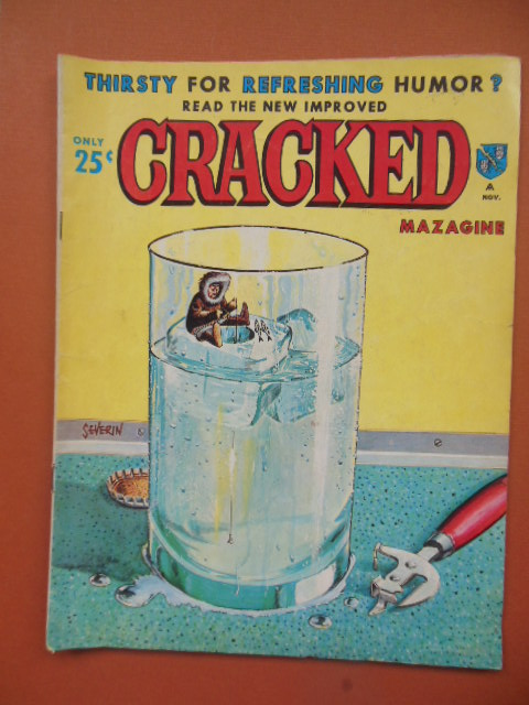 Image for Cracked Magazine, November 1964