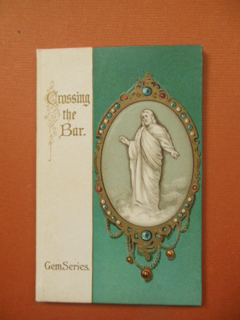 Image for Crossing the Bar; Tennyson 1932