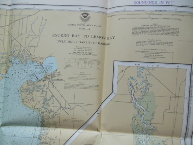 Image for United States Gulf Coast Florida Nautical Chart From Estero Bay to Lemon Bay Including Charlotte Harbor (11426)