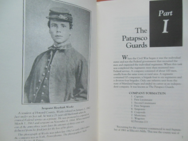 Image for The Patapsco Guards; Independent Company of Maryland Volunteer Infantry 1993 (U.S. Army Ordnance Museum Brochure Laid-in)