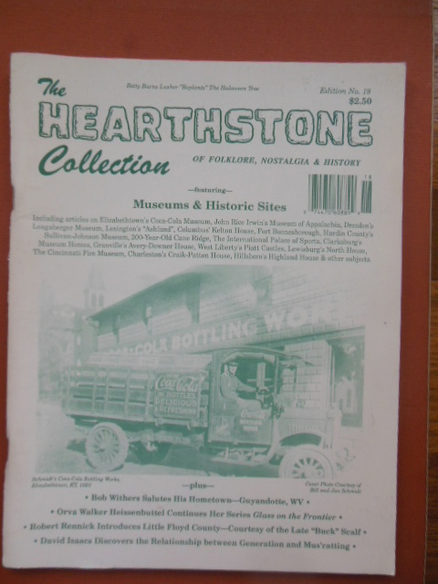 Image for The Hearthstone Collection of folklore, Nostalgia and History No. 18 Featuring Museums & Historic Sites