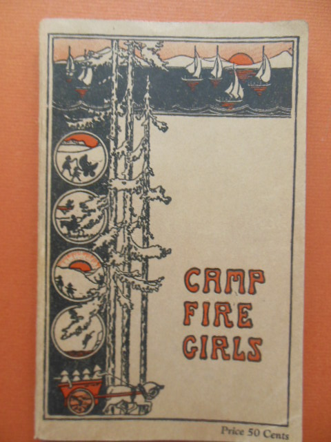 Image for The Book of the Camp Fire Girls 1929