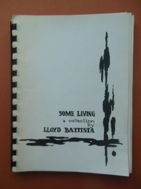 Image for Some Living: A collection by Lloyd Battista (SIGNED, 1961)