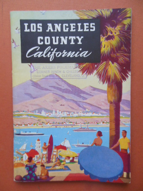 Image for Los Angeles County (Booklet 1930's)