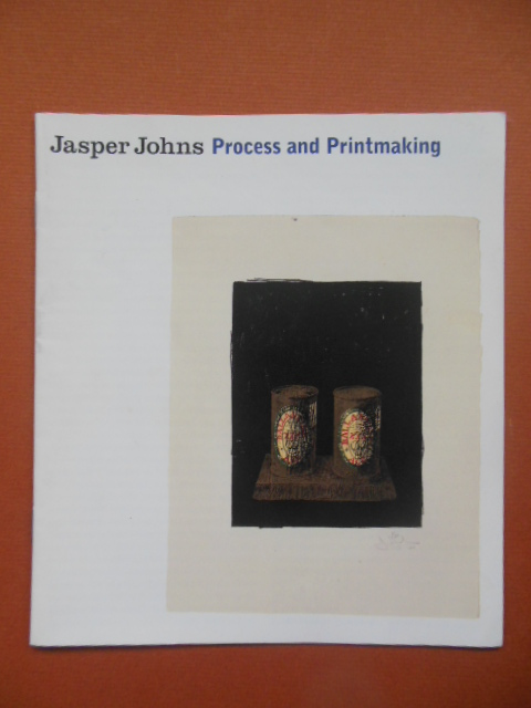 Image for Jasper Johns Process and Printmaking 1998 (Very cool thing on back!)