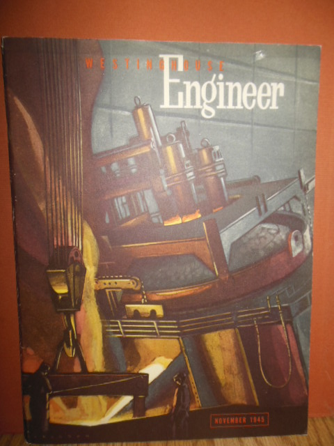 Image for Westinghouse Engineer Magazine November 1945 (TV Broadcasting from the Statosphere)