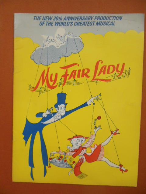 Image for My Fair Lady 20th Anniversary Production Theater Program