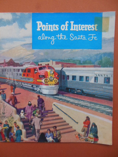 Image for Points of Interest Along the Santa Fe 1954