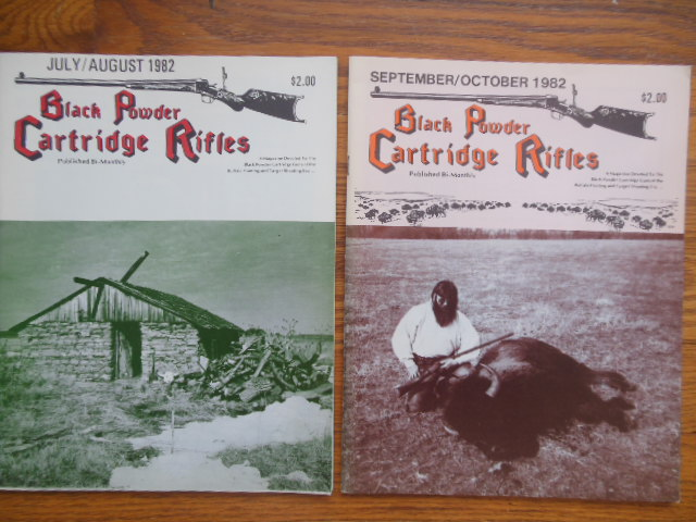 Image for Black Powder Cartridge Rifles Magazine 1982 (two consecutive issues)