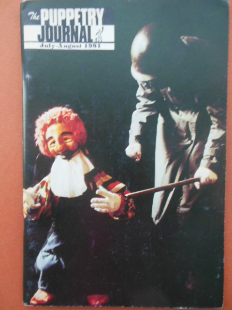 Image for The Puppetry Journal July-August 1981 (Atlanta Center for Puppetry Arts)